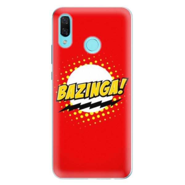 Odolné silikonové pouzdro iSaprio - Bazinga 01 - Huawei Nova 3
