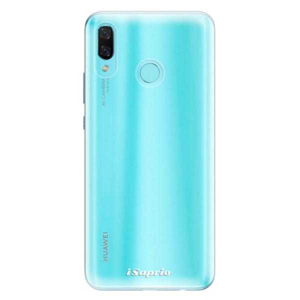 Odolné silikonové pouzdro iSaprio - 4Pure - mléčný bez potisku - Huawei Nova 3