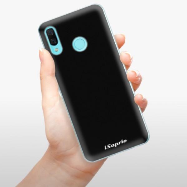 Odolné silikonové pouzdro iSaprio - 4Pure - černý - Huawei Nova 3