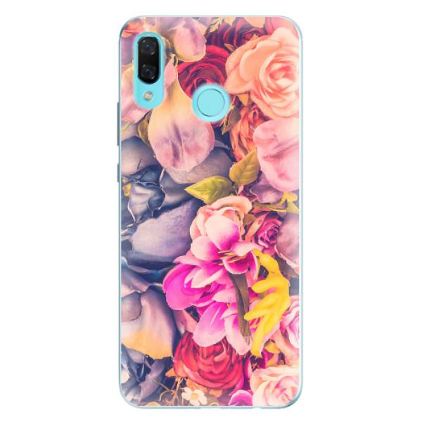 Odolné silikonové pouzdro iSaprio - Beauty Flowers - Huawei Nova 3