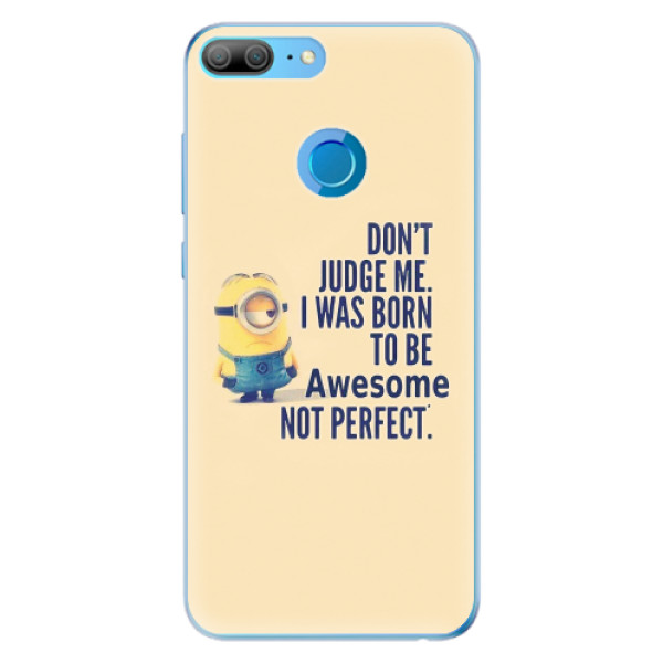 Odolné silikonové pouzdro iSaprio - Be Awesome - Huawei Honor 9 Lite