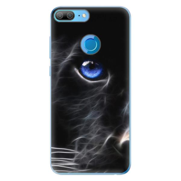 Odolné silikonové pouzdro iSaprio - Black Puma - Huawei Honor 9 Lite