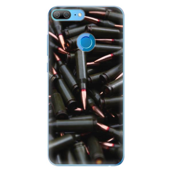 Odolné silikonové pouzdro iSaprio - Black Bullet - Huawei Honor 9 Lite
