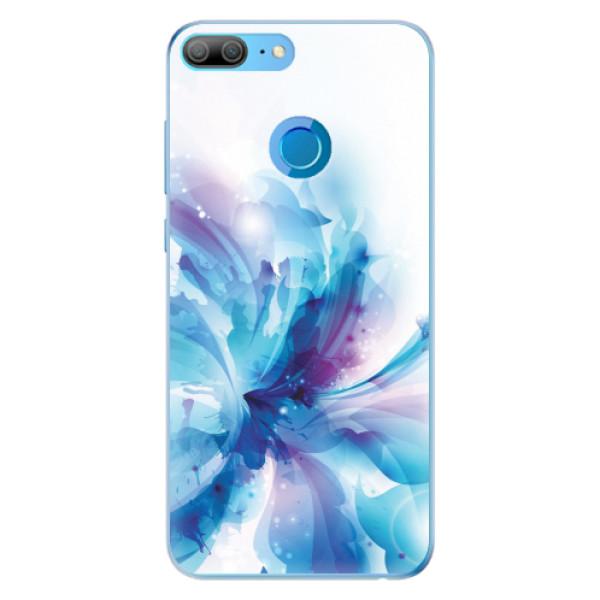 Odolné silikonové pouzdro iSaprio - Abstract Flower - Huawei Honor 9 Lite