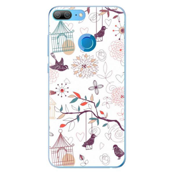 Odolné silikonové pouzdro iSaprio - Birds - Huawei Honor 9 Lite