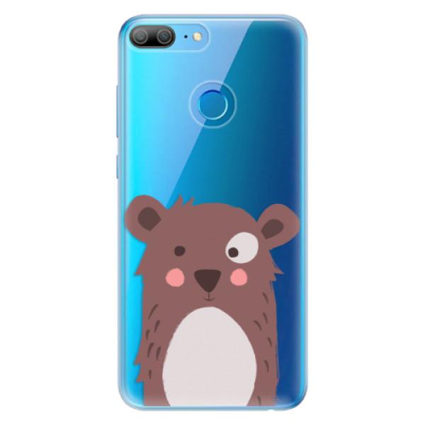 Odolné silikonové pouzdro iSaprio - Brown Bear - Huawei Honor 9 Lite