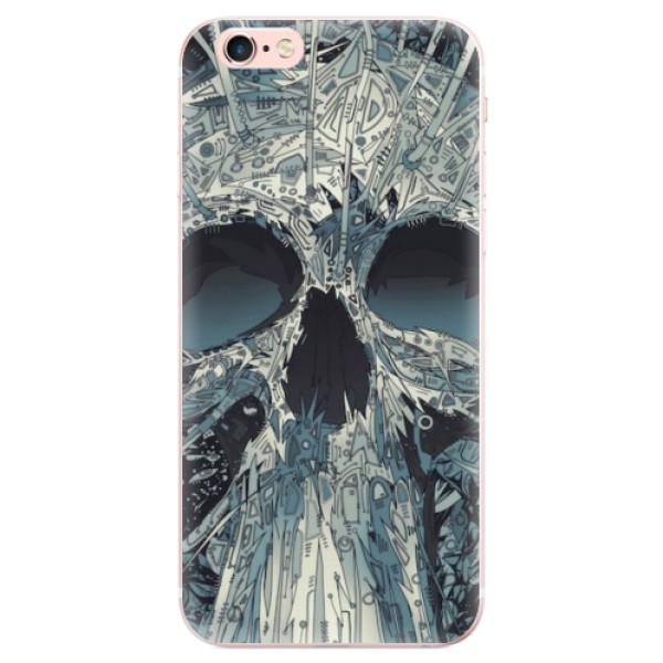 Odolné silikonové pouzdro iSaprio - Abstract Skull - iPhone 6 Plus/6S Plus