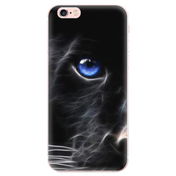 Odolné silikonové pouzdro iSaprio - Black Puma - iPhone 6 Plus/6S Plus