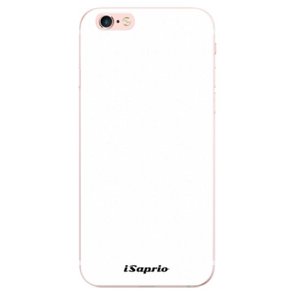 Odolné silikonové pouzdro iSaprio - 4Pure - bílý - iPhone 6 Plus/6S Plus