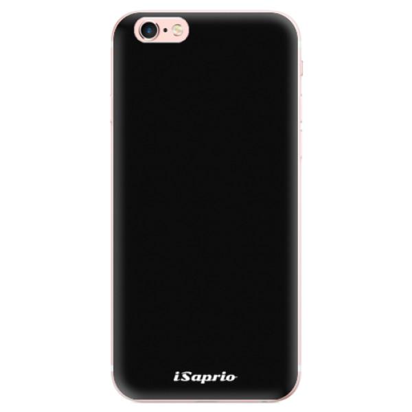 Odolné silikonové pouzdro iSaprio - 4Pure - černý - iPhone 6 Plus/6S Plus