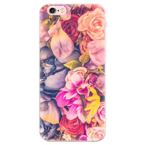 Odolné silikonové pouzdro iSaprio - Beauty Flowers - iPhone 6 Plus/6S Plus