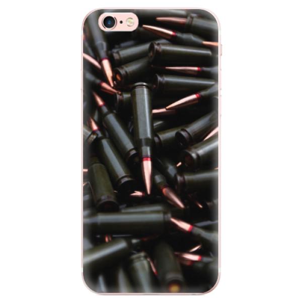 Odolné silikonové pouzdro iSaprio - Black Bullet - iPhone 6 Plus/6S Plus
