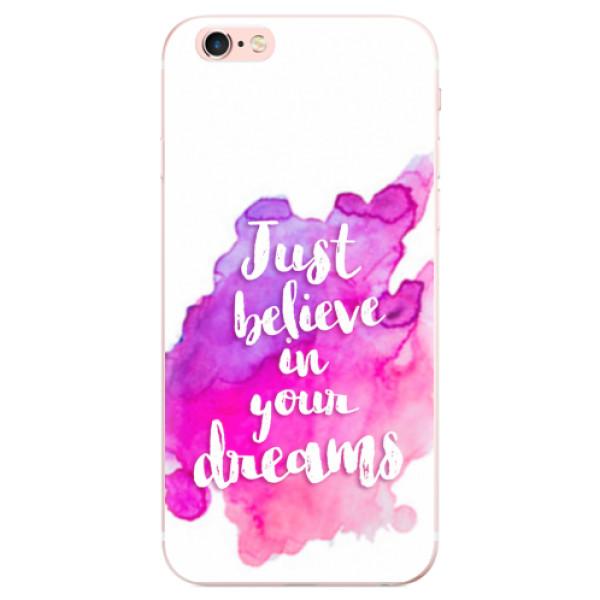 Odolné silikonové pouzdro iSaprio - Believe - iPhone 6 Plus/6S Plus