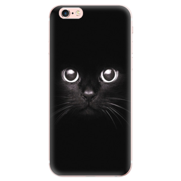 Odolné silikonové pouzdro iSaprio - Black Cat - iPhone 6 Plus/6S Plus