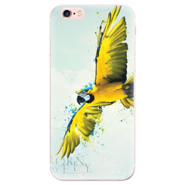 Odolné silikonové pouzdro iSaprio - Born to Fly - iPhone 6 Plus/6S Plus