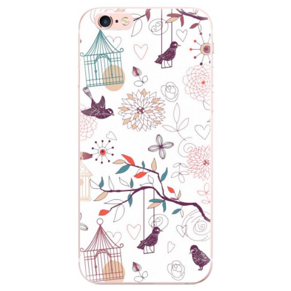 Odolné silikonové pouzdro iSaprio - Birds - iPhone 6 Plus/6S Plus