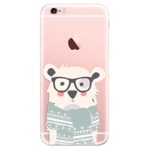 Odolné silikonové pouzdro iSaprio - Bear with Scarf - iPhone 6 Plus/6S Plus