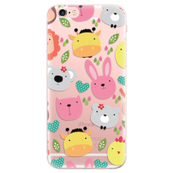 Odolné silikonové pouzdro iSaprio - Animals 01 - iPhone 6 Plus/6S Plus