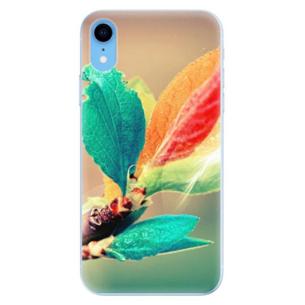 Odolné silikonové pouzdro iSaprio - Autumn 02 - iPhone XR