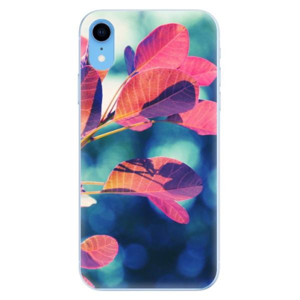 Odolné silikonové pouzdro iSaprio - Autumn 01 - iPhone XR