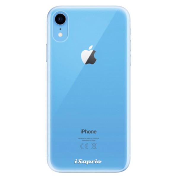 Odolné silikonové pouzdro iSaprio - 4Pure - mléčný bez potisku - iPhone XR