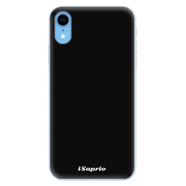 Odolné silikonové pouzdro iSaprio - 4Pure - černý - iPhone XR