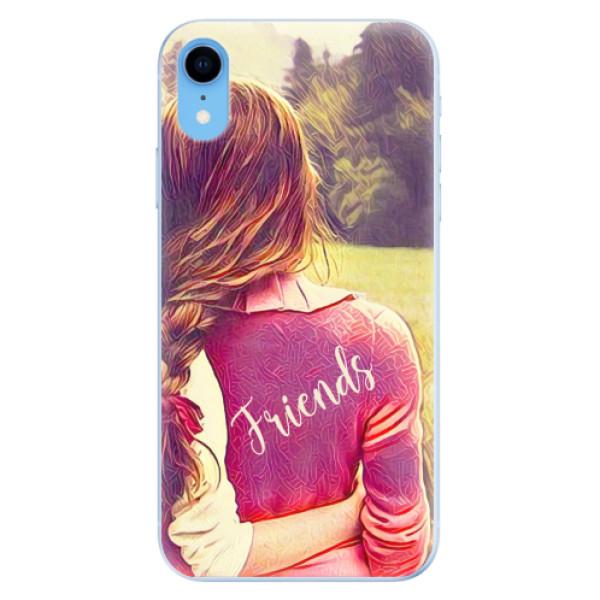 Odolné silikonové pouzdro iSaprio - BF Friends - iPhone XR