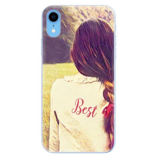 Odolné silikonové pouzdro iSaprio - BF Best - iPhone XR