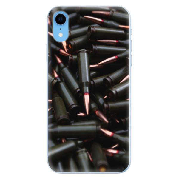 Odolné silikonové pouzdro iSaprio - Black Bullet - iPhone XR