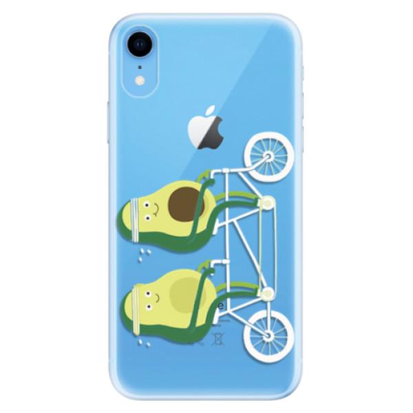 Odolné silikonové pouzdro iSaprio - Avocado - iPhone XR