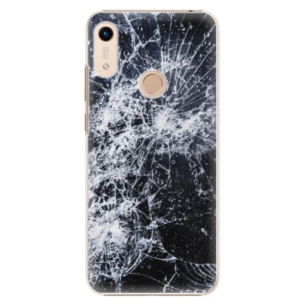 Plastové pouzdro iSaprio - Cracked - Huawei Honor 8A