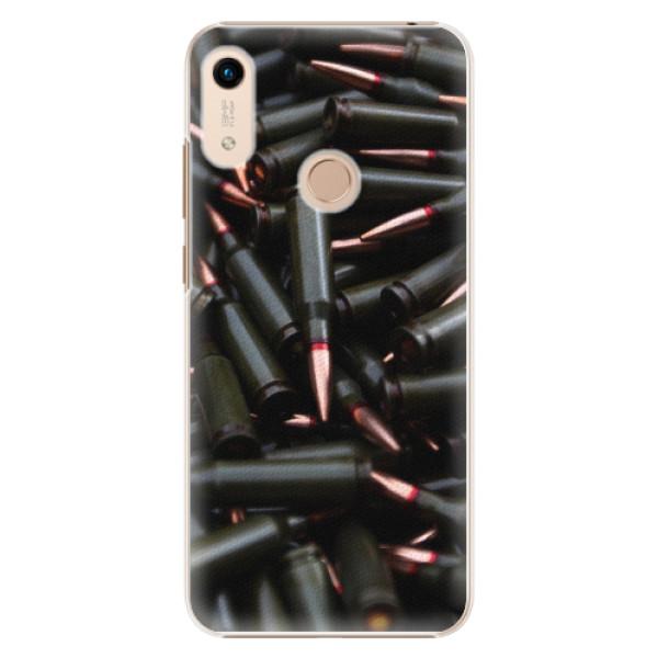 Plastové pouzdro iSaprio - Black Bullet - Huawei Honor 8A
