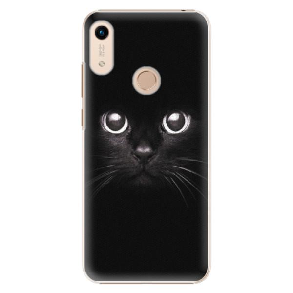 Plastové pouzdro iSaprio - Black Cat - Huawei Honor 8A