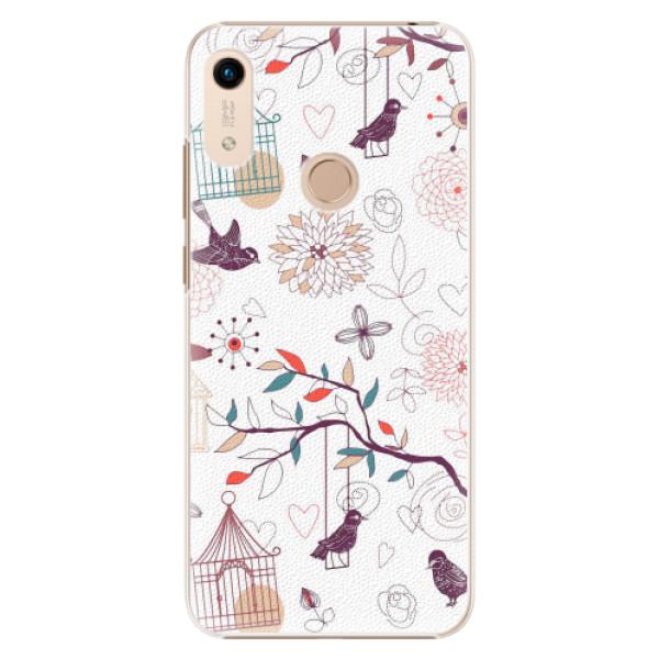 Plastové pouzdro iSaprio - Birds - Huawei Honor 8A