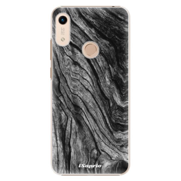 Plastové pouzdro iSaprio - Burned Wood - Huawei Honor 8A
