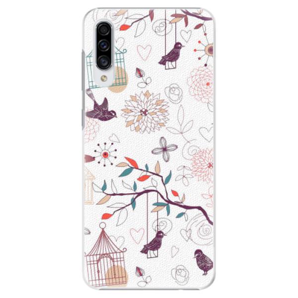 Plastové pouzdro iSaprio - Birds - Samsung Galaxy A30s