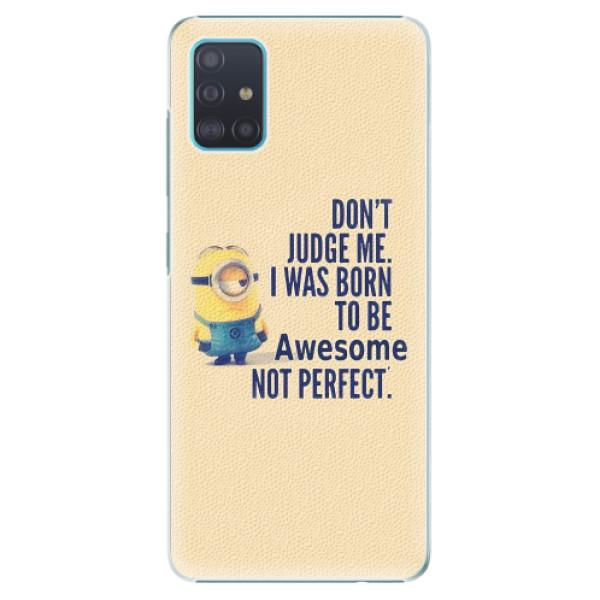 Plastové pouzdro iSaprio - Be Awesome - Samsung Galaxy A51