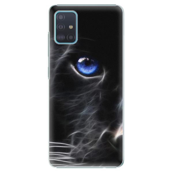 Plastové pouzdro iSaprio - Black Puma - Samsung Galaxy A51
