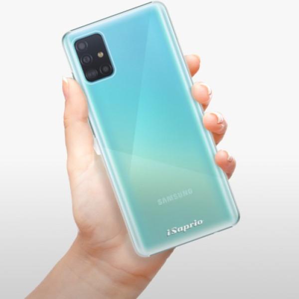 Plastové pouzdro iSaprio - 4Pure - mléčný bez potisku - Samsung Galaxy A51