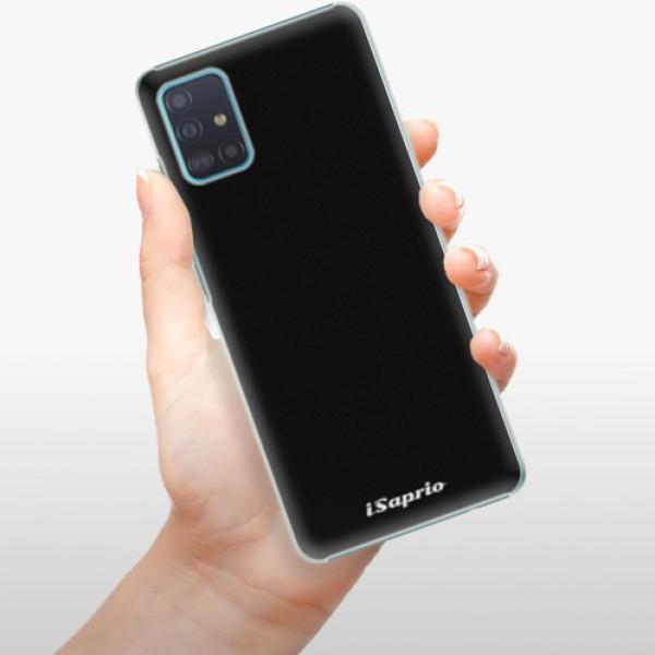 Plastové pouzdro iSaprio - 4Pure - černý - Samsung Galaxy A51
