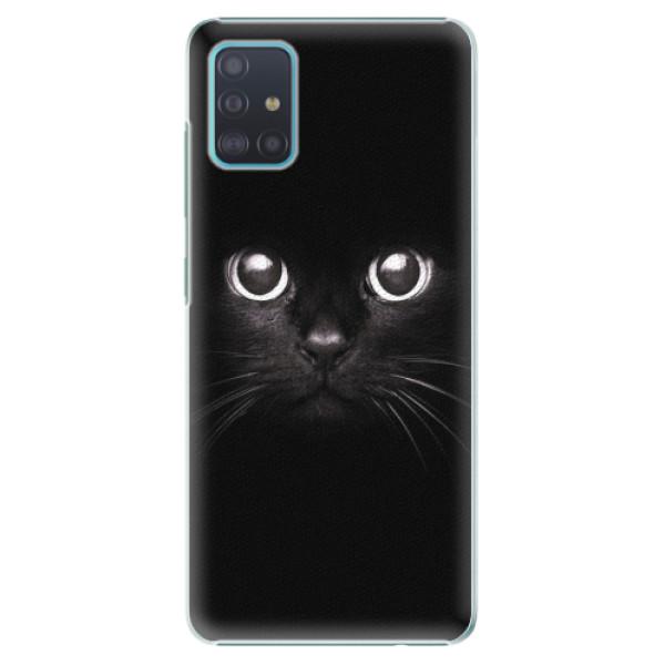 Plastové pouzdro iSaprio - Black Cat - Samsung Galaxy A51