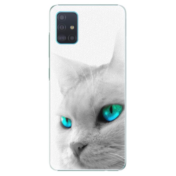 Plastové pouzdro iSaprio - Cats Eyes - Samsung Galaxy A51