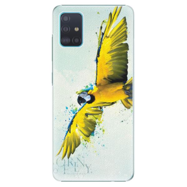 Plastové pouzdro iSaprio - Born to Fly - Samsung Galaxy A51