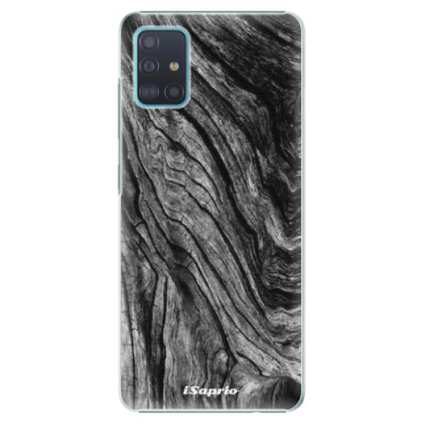 Plastové pouzdro iSaprio - Burned Wood - Samsung Galaxy A51