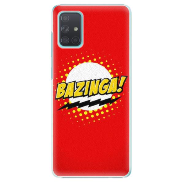 Plastové pouzdro iSaprio - Bazinga 01 - Samsung Galaxy A71