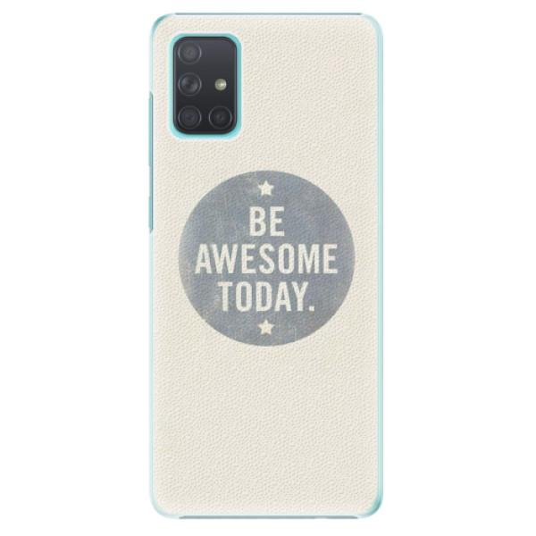 Plastové pouzdro iSaprio - Awesome 02 - Samsung Galaxy A71