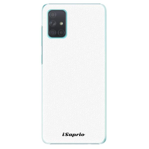 Plastové pouzdro iSaprio - 4Pure - bílý - Samsung Galaxy A71