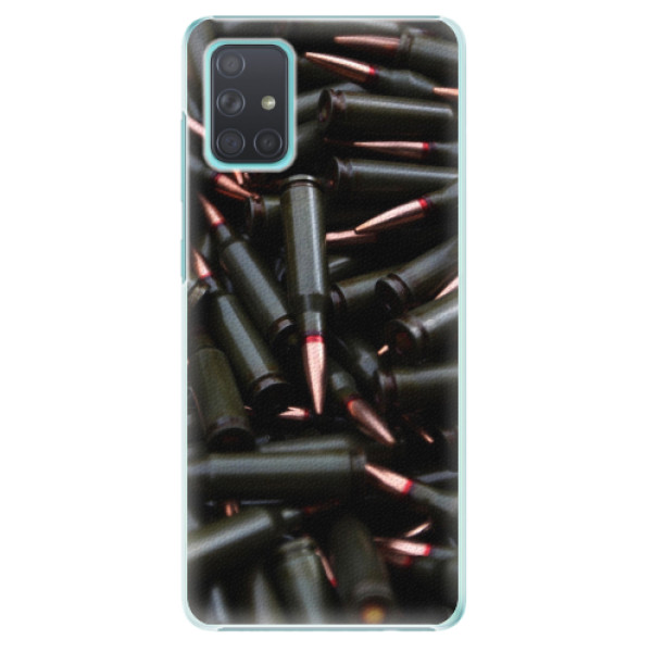 Plastové pouzdro iSaprio - Black Bullet - Samsung Galaxy A71