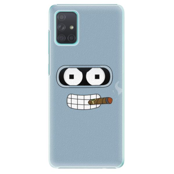 Plastové pouzdro iSaprio - Bender - Samsung Galaxy A71
