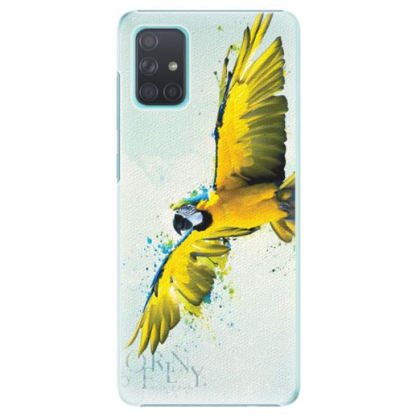 Plastové pouzdro iSaprio - Born to Fly - Samsung Galaxy A71
